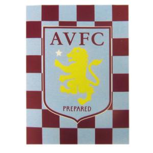 Fleecová deka Aston Villa FC čtverečkovaná