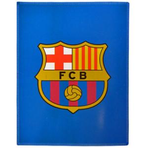 Fleecová deka Barcelona FC modrá