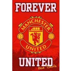 Plakát Manchester United FC (typ 19)
