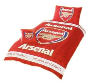 Povlečení Arsenal FC (s bílým pruhem)